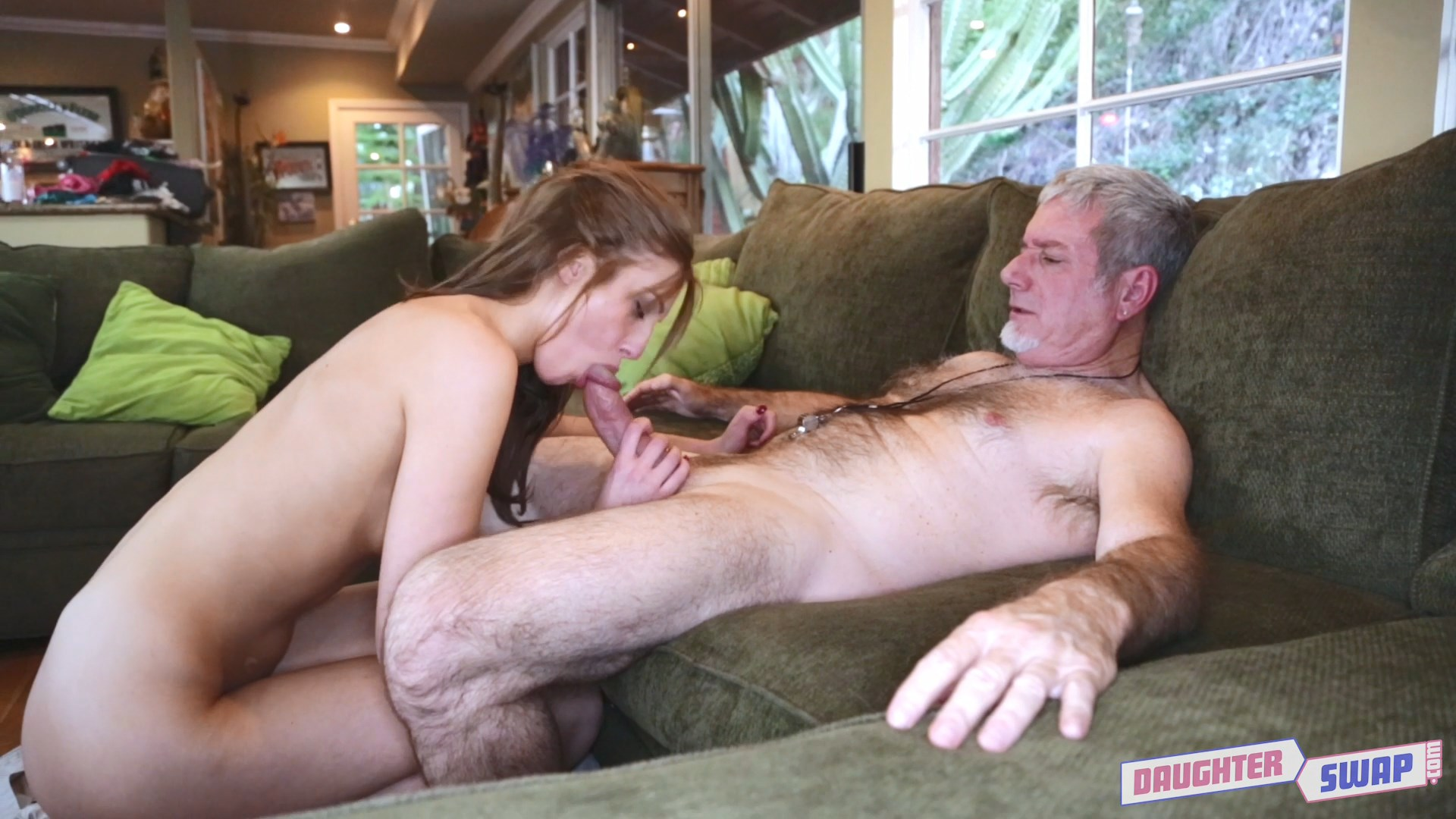 Daddy fucks doughter